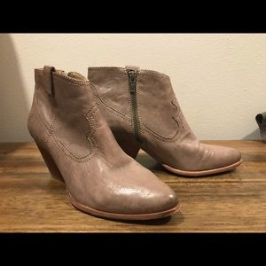 Frye Ankle booties in gray, size 9